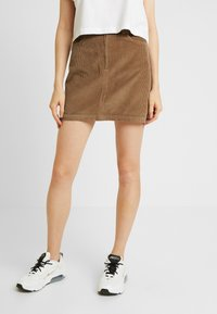 Hollister Co. - Minisukně - brown/toasted coconut - 0