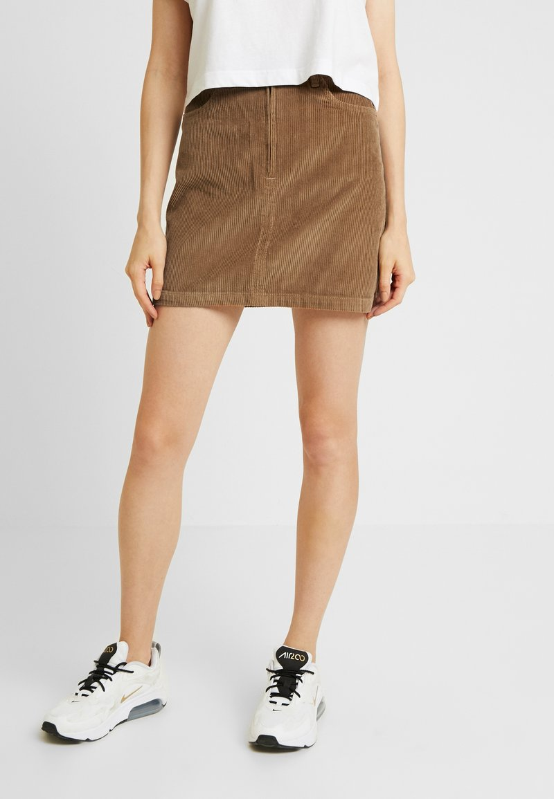 Hollister Co. - Minisukně - brown/toasted coconut