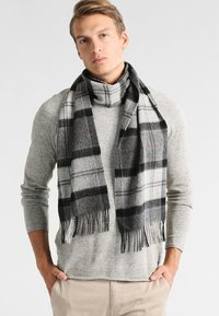 Barbour - HOLDEN TARTAN - Scarf - grey - 0