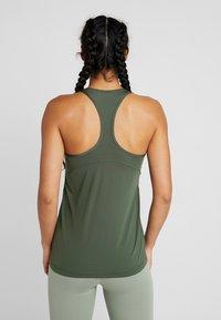 Nike Performance - TANK ALL OVER  - Sports shirt - juniper fog/white - 2