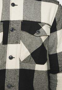 Only & Sons - ONSMILO LIFE CHECK  - Shirt - black - 4
