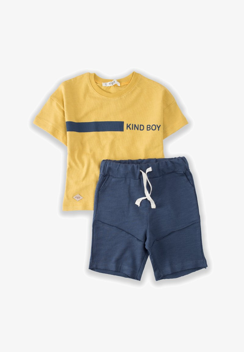 Cigit - SET - Shorts - mustard yellow