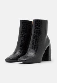 Glamorous Wide Fit - Kotníková obuv na vysokém podpatku - black - 2