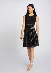 Morgan - Jumper dress - black - 1