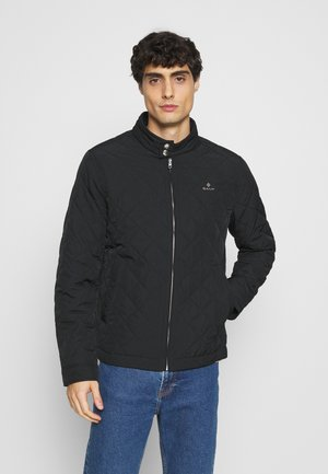 QUILTED WINDCHEATER - Jas - black