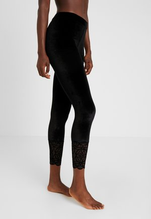 DARK ROMANCE - Leggings - black