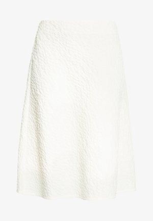 BABET - A-line skirt - whisper white