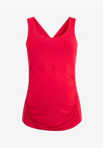 Cross-Back Detail - Top - red