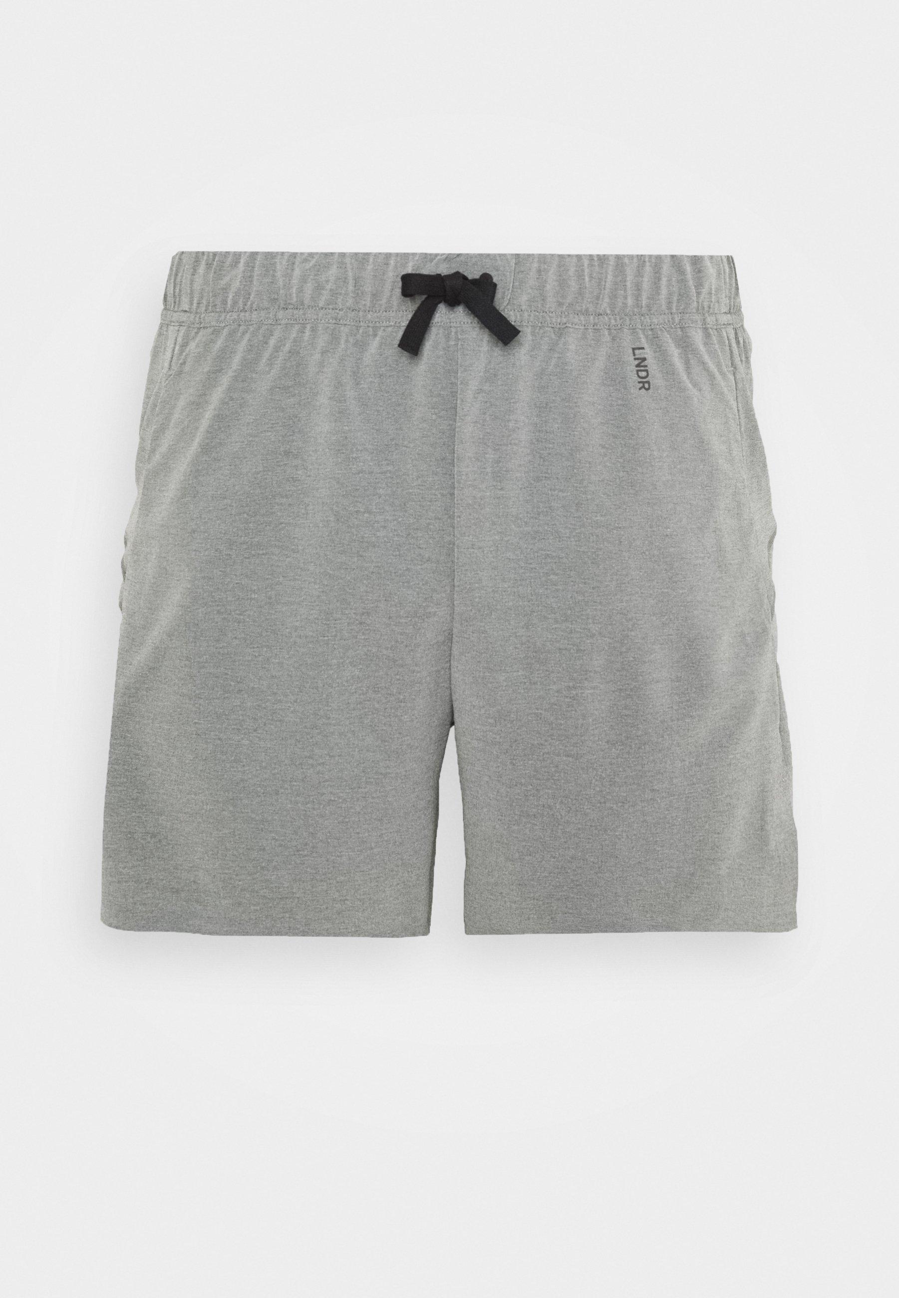 LNDR RUN SHORT - Short de sport - grey marl