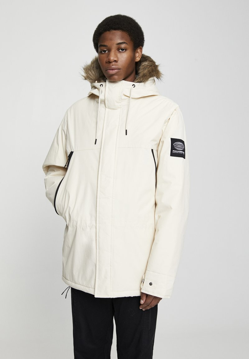 PULL&BEAR - Winter coat - white