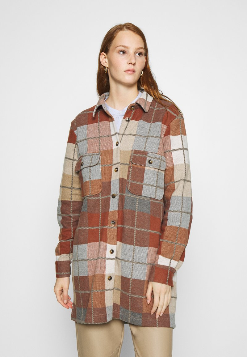 Lounge Nine - JOLENE WORKWEAR - Classic coat - burned melange