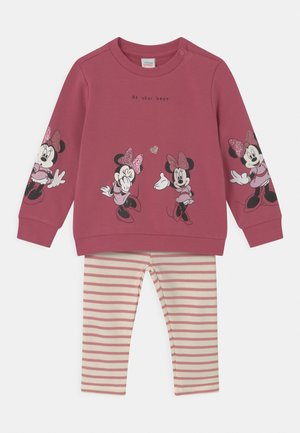 MINNIE SET - Mikina - mauvewood