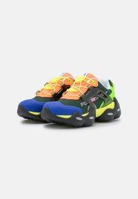Polo Ralph Lauren - TECH TOP LACE - Sneakers basse - black/multicolor - 2