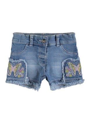 SHORT - Denim shorts - indigo