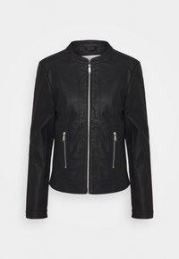 ACOM JACKET - Faux leather jacket - black