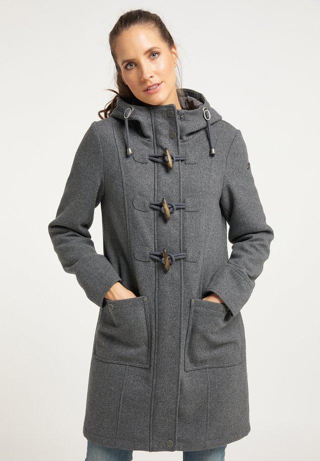 Winter coat - grau melange