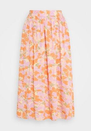 YASJUNA MIDI SKIRT - A-line skirt - golden straw