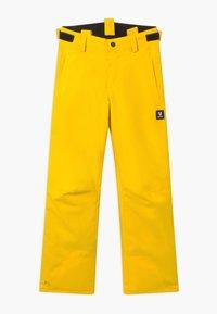 Brunotti - FOOTSTRAP BOYS - Zimní kalhoty - cyber yellow - 2