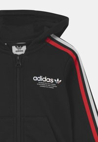 adidas Originals - HOODIE SET UNISEX - Survêtement - black - 3