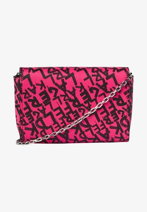 Across body bag - a599 fuchsia/bk