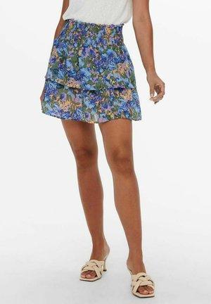 GESMOKT - Mini skirt - peach nougat