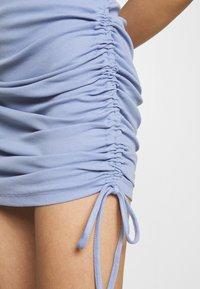 Noisy May - NMSTINE ROUCHING DRESS - Jersey dress - purple impression - 4