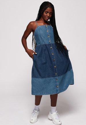 Denim dress - duet blue