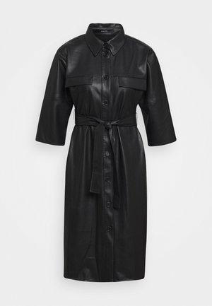 QUAARA - Košilové šaty - black