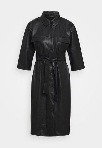 QUAARA - Shirt dress - black