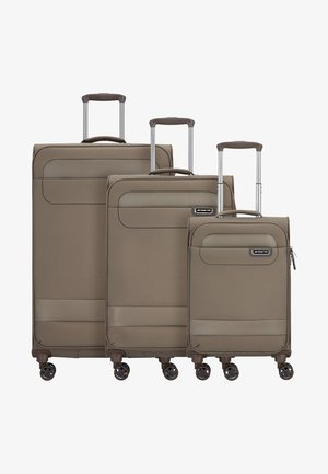 SET - Luggage set - brown