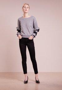 J.CREW - LOOKOUT HIGH RISE NEW BLACK - Slim fit jeans - true black - 1