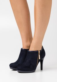 Wallis - CLAUDIA - High heeled ankle boots - navy - 0