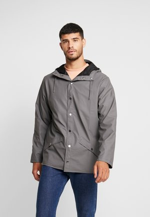 UNISEX JACKET - Impermeable - charcoal