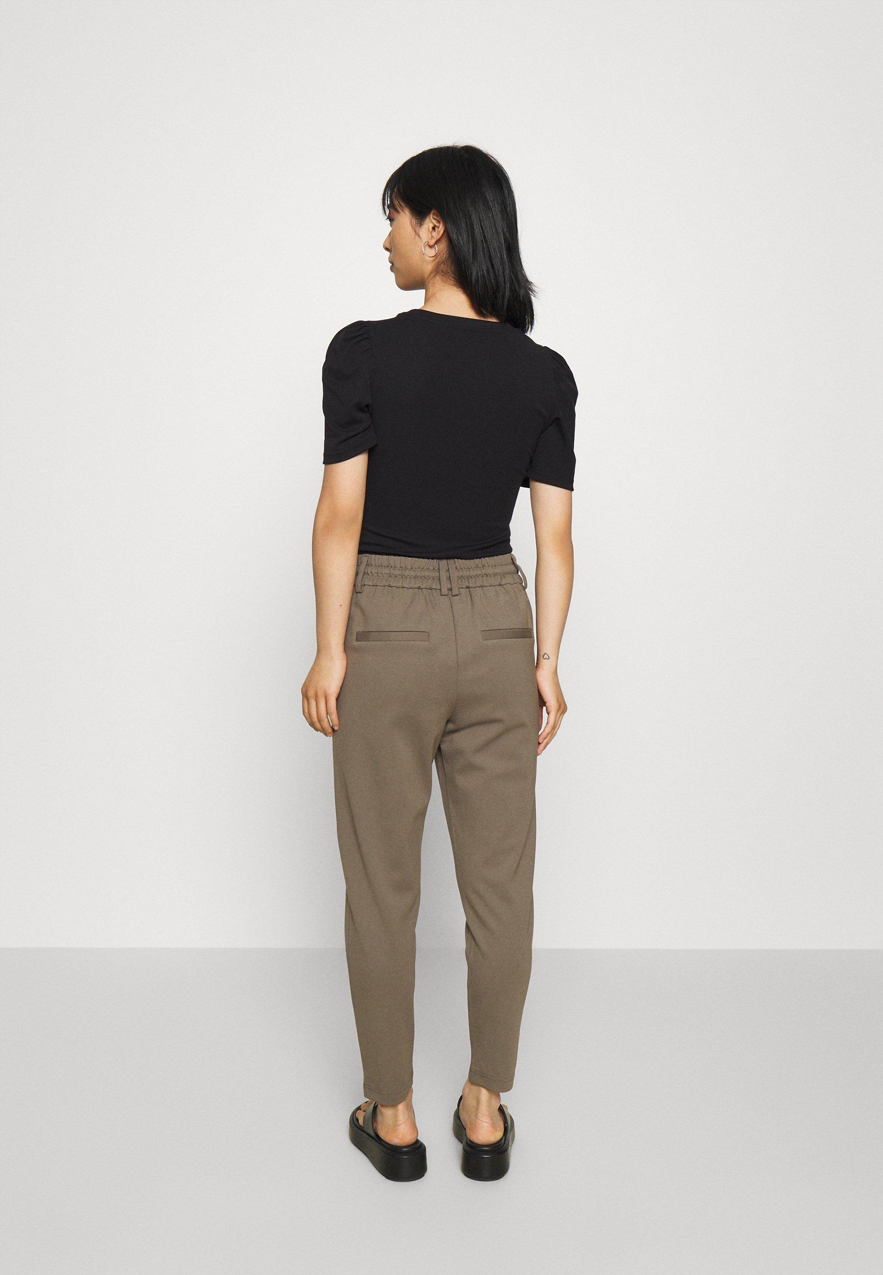 Damer ONLPOPTRASH EASY COLOUR PANT - Bukser