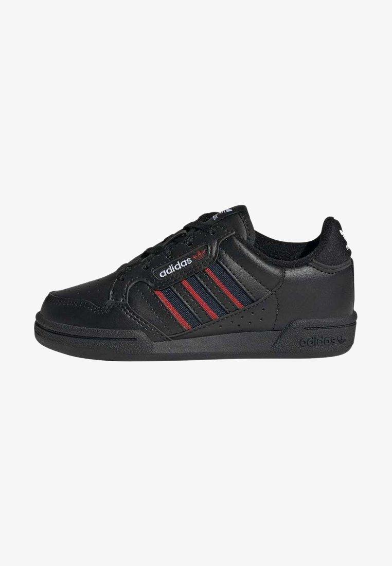 adidas Originals - CONTINENTAL 80 STRIPES SCHUH - Trainers - black