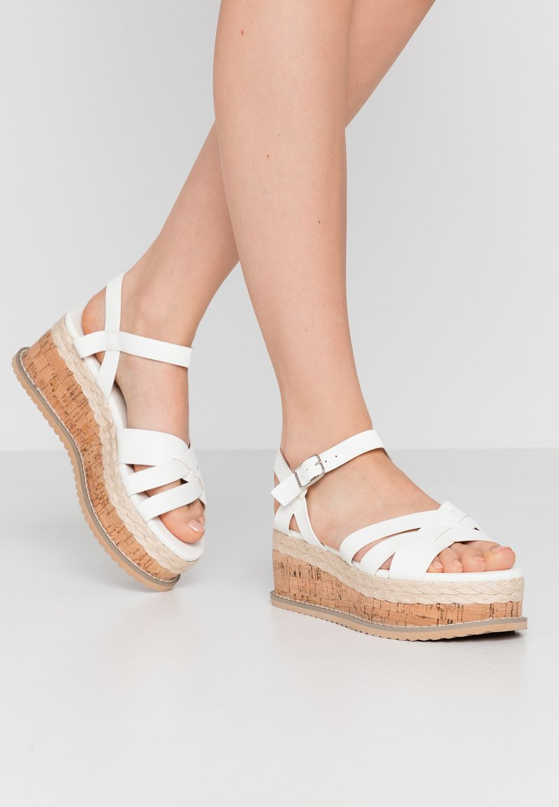 Koi Footwear - VEGAN  - Platform sandals - white