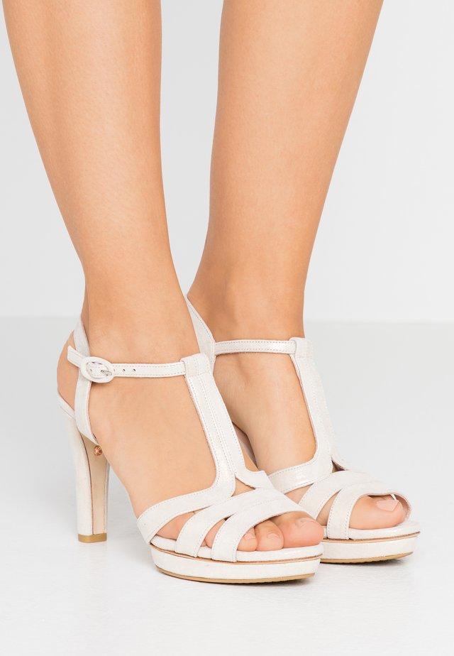 Højhælede sandaletter / Højhælede sandaler - esprit