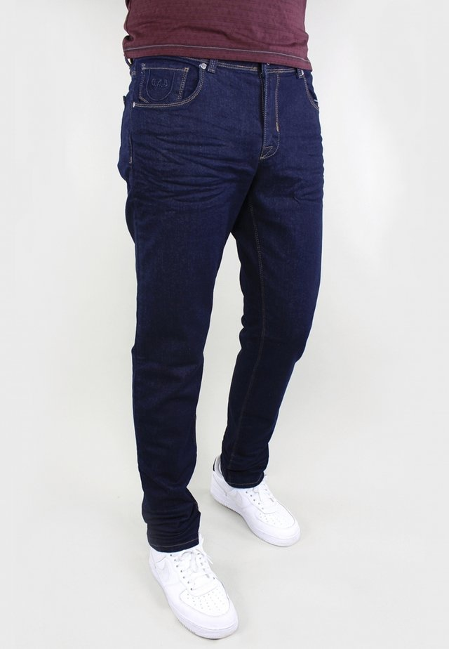 BERGAMO - Jeans Tapered Fit - blue rinsed