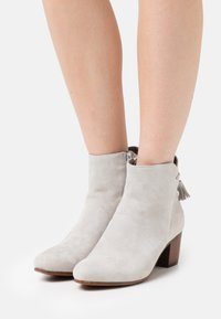 Anna Field - LEATHER - Classic ankle boots - grey - 0