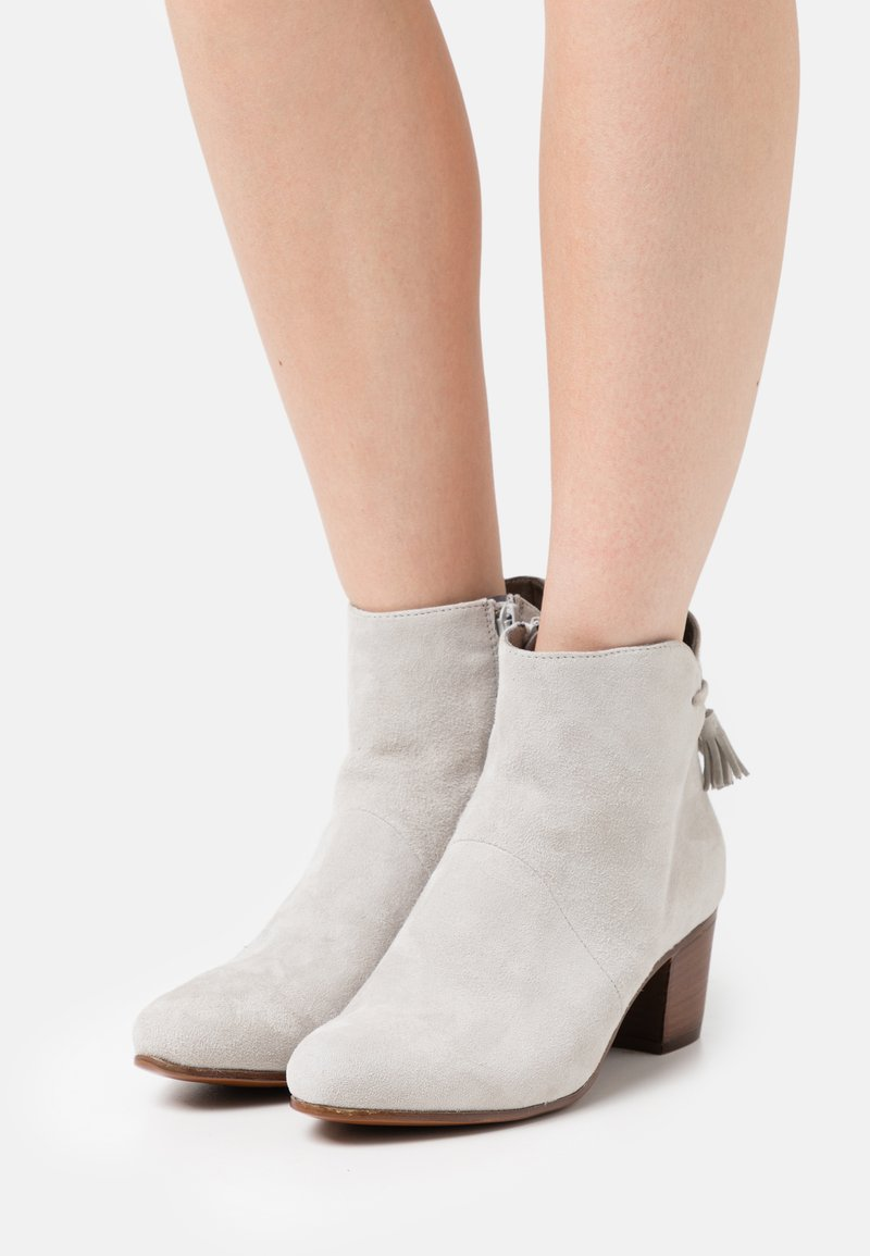 Anna Field - LEATHER - Classic ankle boots - grey