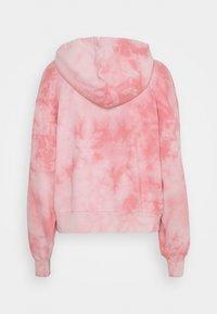 GAP - ABBREVIATED - Zip-up sweatshirt - pink - 1