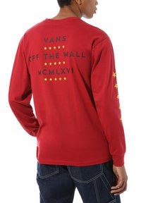 Vans - VICTORY - Print T-shirt - cardinal - 1