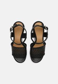 Minelli - Korkeakorkoiset sandaalit - noir - 4