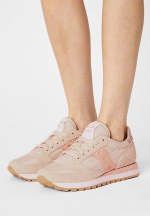 JAZZ ORIGINAL - Trainers - tan/pink