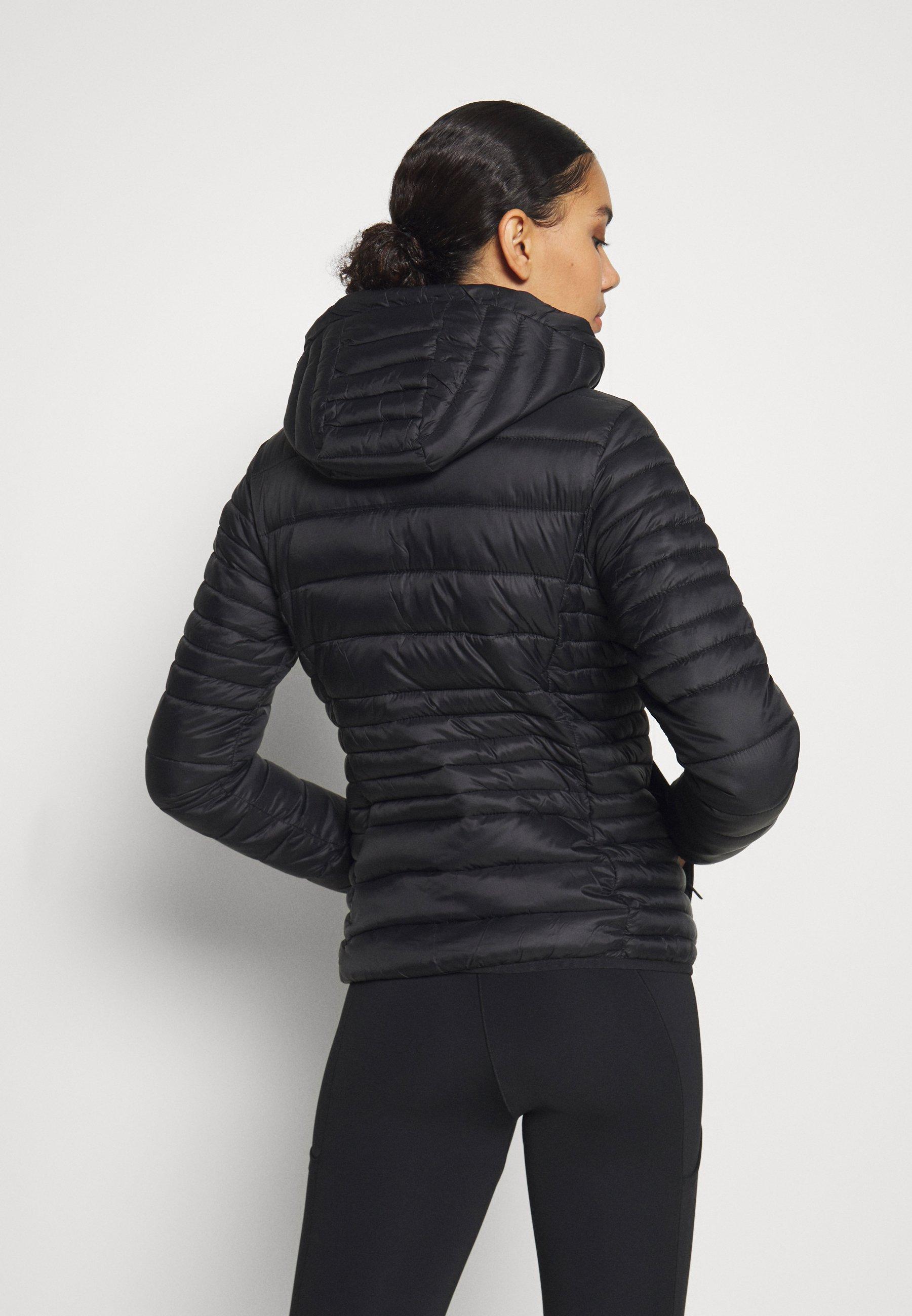 CMP WOMAN JACKET SNAPS HOOD - Winter jacket - nero hHqxI