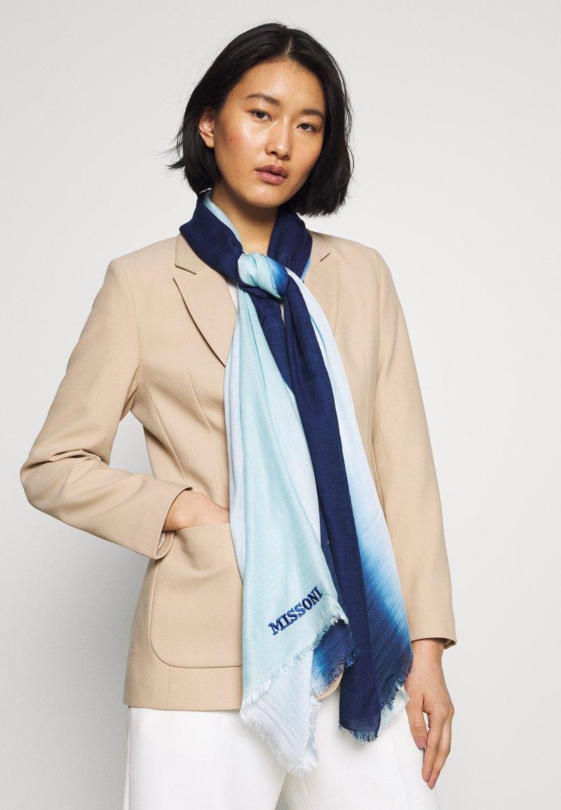 Missoni - Sjal / Tørklæder - light blue
