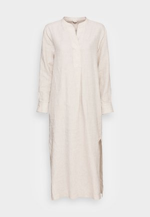 Robe longue - nature beige