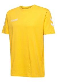 Hummel - HMLGO - Print T-shirt - sports yellow - 2