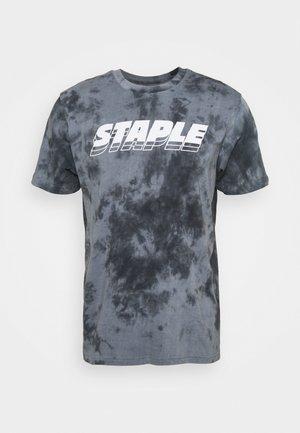 LOGO TEE UNISEX - T-shirt con stampa - black