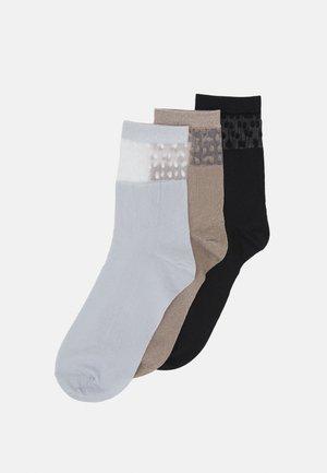 VMANNE SOCKS 3 PACK - Socks - black